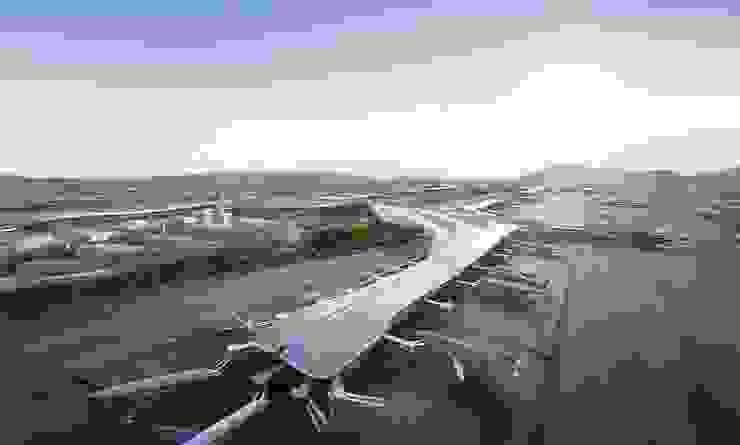 Chengdu International Airport, Chengdu, China, by Aedas Modern airports by Architecture by Aedas Modern