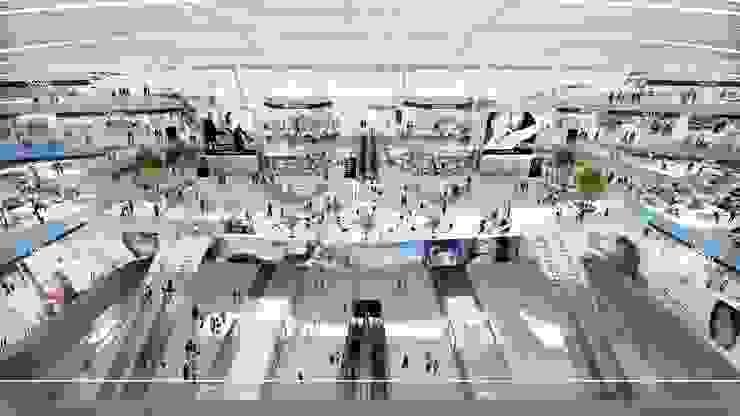Shenzhen Airport Satellite Concourse, China, by Aedas Modern airports by Architecture by Aedas Modern