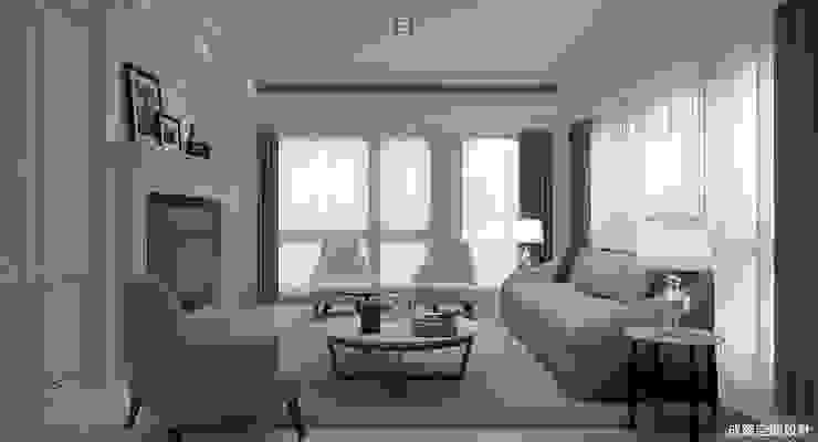 新古典的白色浪漫 根據 成綺空間設計 古典風