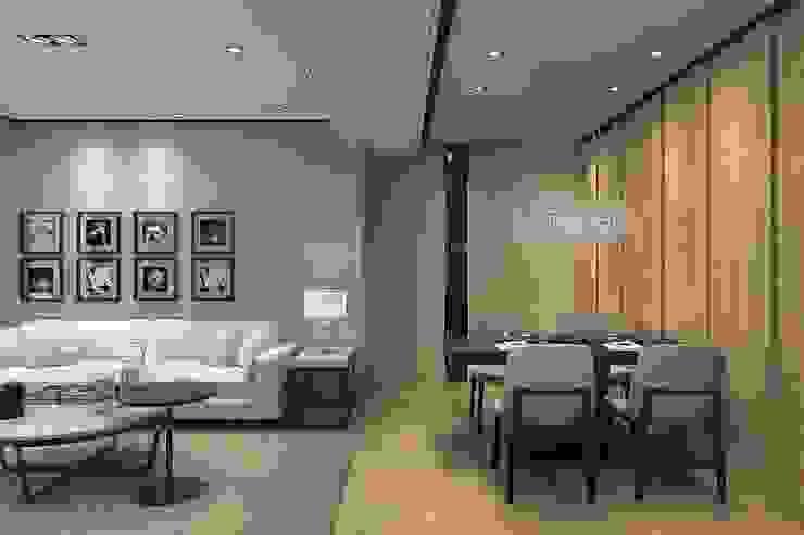 Livings de estilo moderno de 成綺空間設計 Moderno