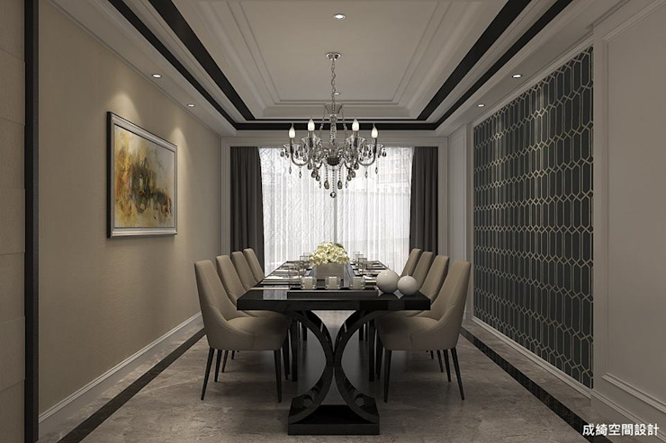 Classic style dining room by 成綺空間設計 Classic