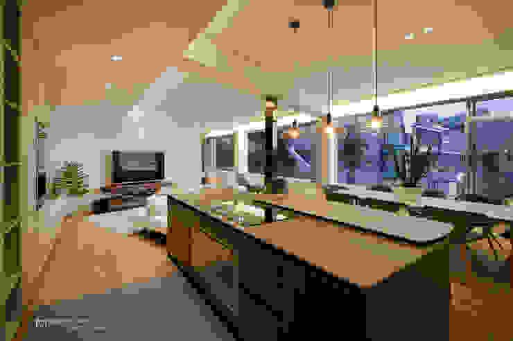 Clifton Apartment Make Architects + Interior Studio Modern kitchen