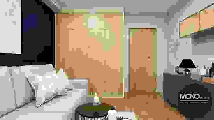 Dormitorios eclécticos de MONOstudio Ecléctico