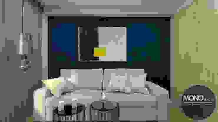 Eclectic style bedroom by MONOstudio Eclectic