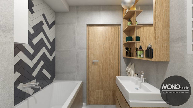 Eclectic style bathroom by MONOstudio Eclectic