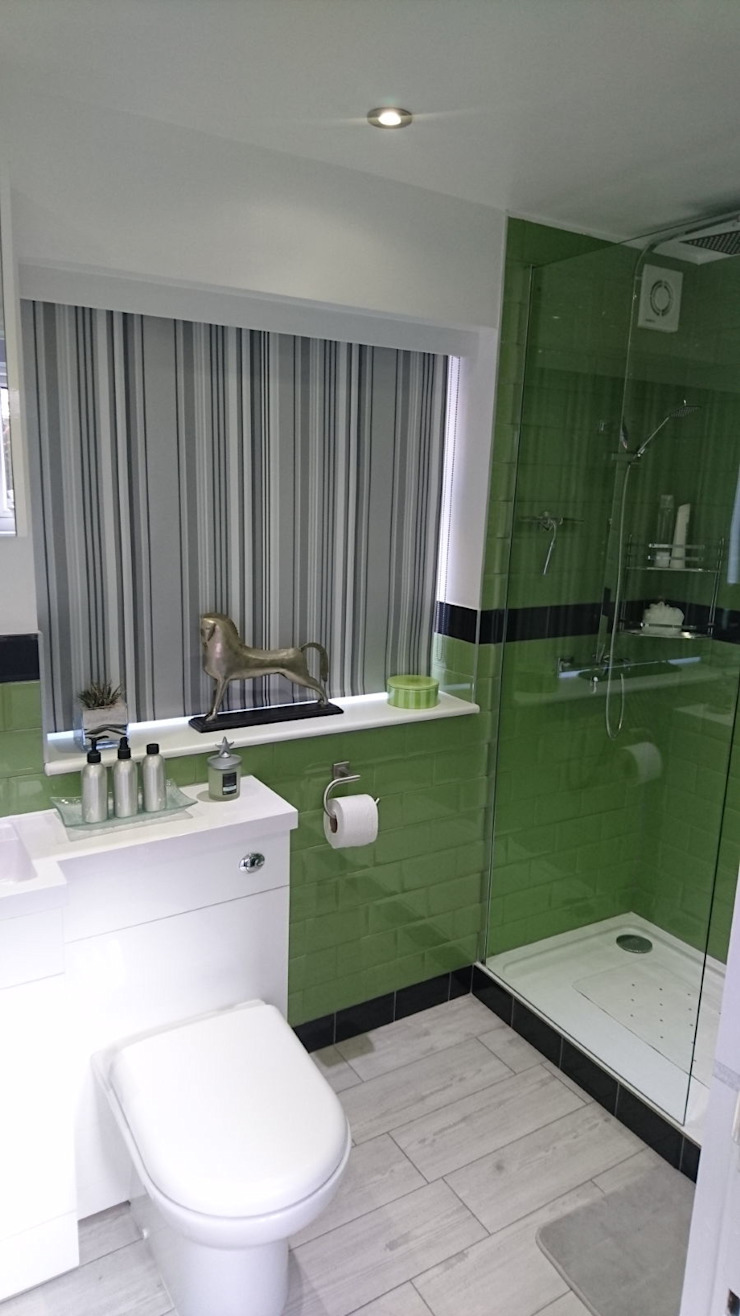 Bathroom Refurbishment and Re-design Salle de bain moderne par Kerry Holden Interiors Moderne
