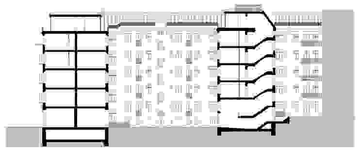 ทันสมัย  โดย brandt+simon architekten, โมเดิร์น