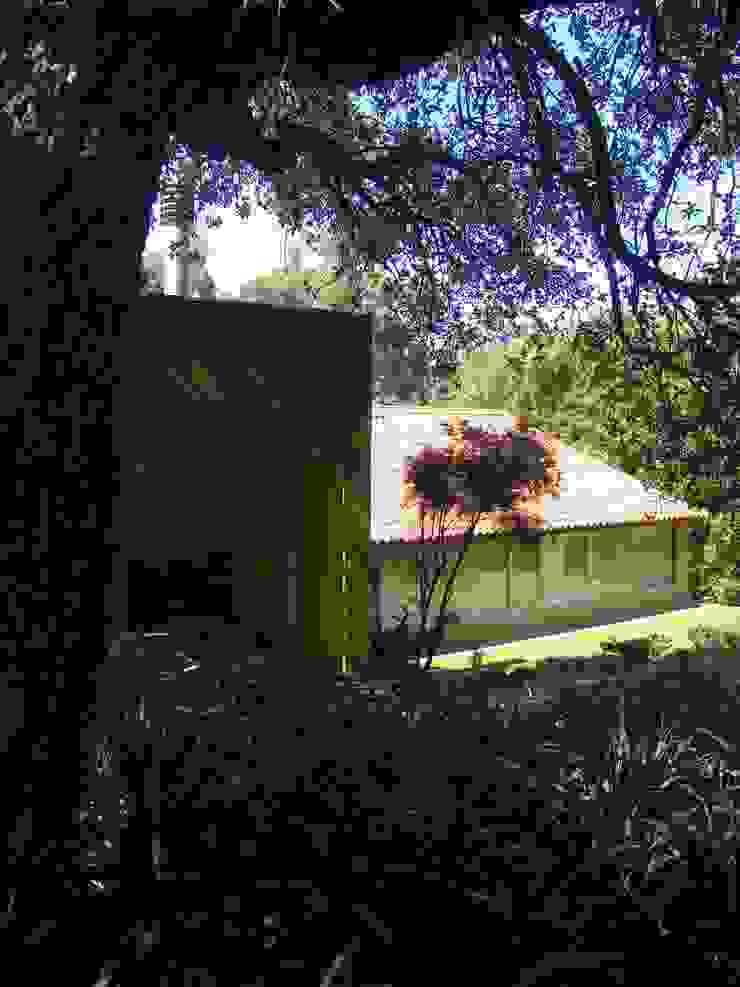 Casa na Praia da Madalena Jardins modernos por José Soares Arquitecto LDA Moderno