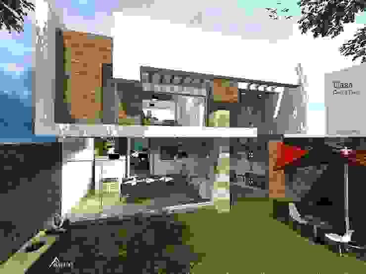 Casas modernas de ARCHITECKT Moderno