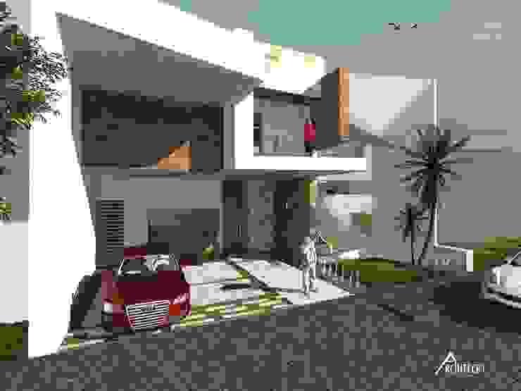 Diseño Arquitectónico y Construcción Casas modernas de ARCHITECKT Moderno