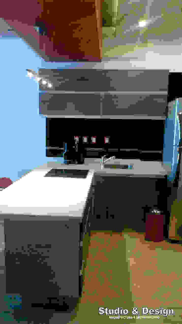 Torre Xiris Cocinas minimalistas de STUDIO&DESIGN Minimalista Cuarzo