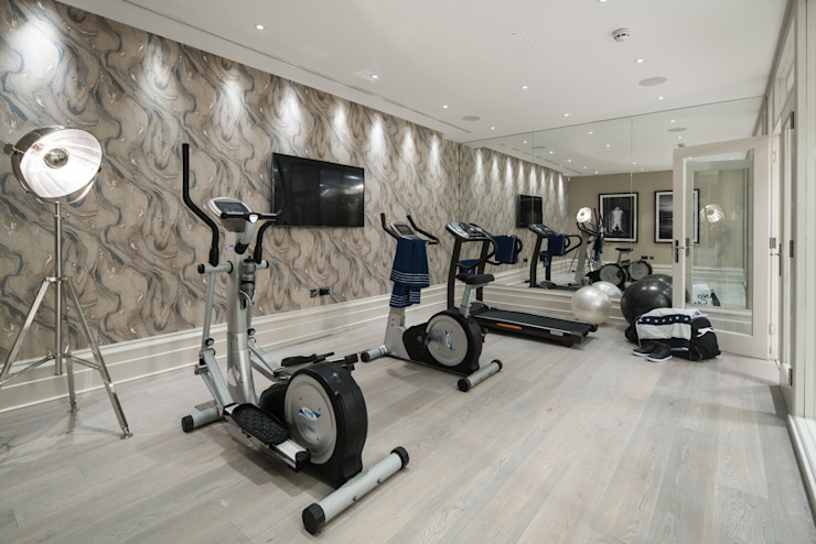 Basement Gym by CTS Systems