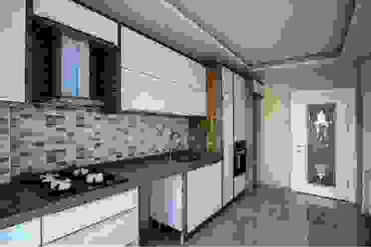 FREZYA EVLERİ Modern Mutfak Majestik Mutfak & Mobilya Modern Orta Yoğunlukta Lifli Levha