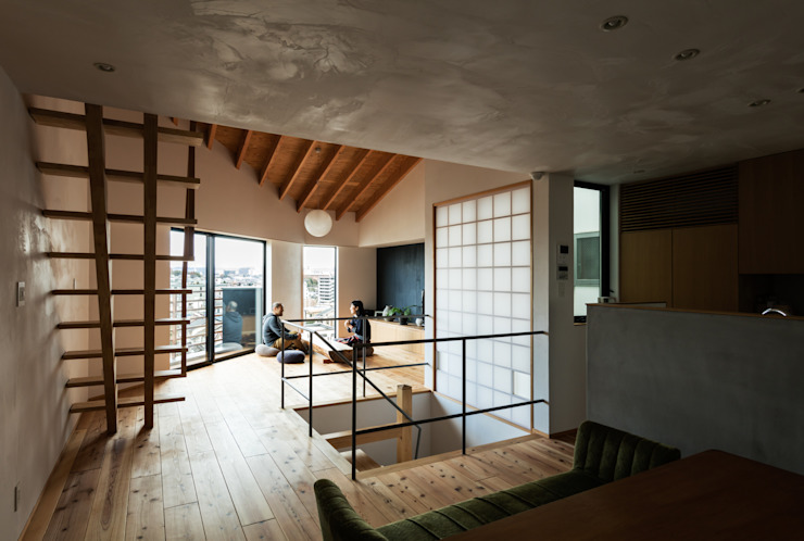 โดย 藤森大作建築設計事務所 โมเดิร์น ไม้ Wood effect