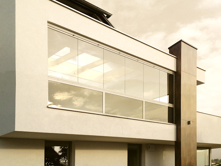 Modern Windows and Doors by Schmidinger Wintergärten, Fenster & Verglasungen Modern Concrete
