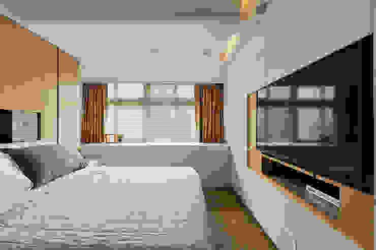 隔間牆轉作櫥櫃,讓收納力大增! 根據 青瓷設計工程有限公司 現代風
