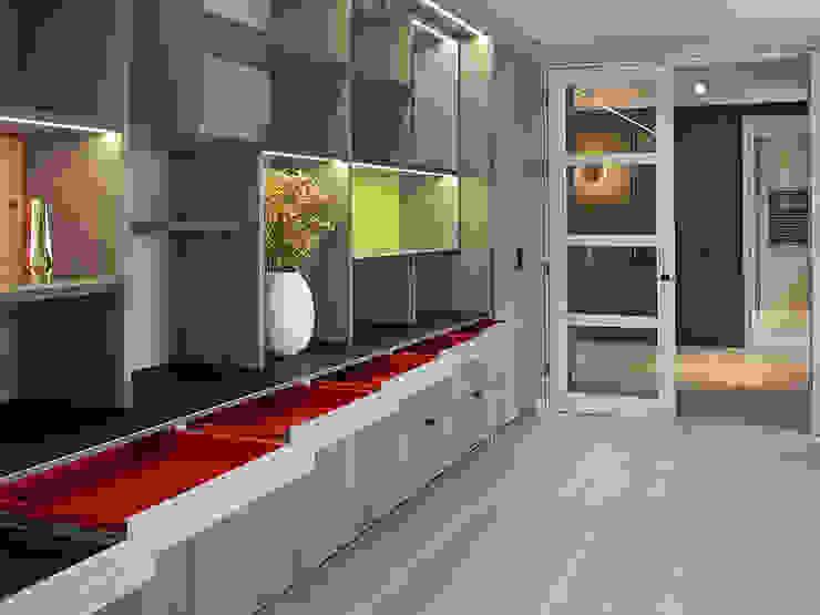 Joinery Modern living room by Studio HE (S /HE) Modern