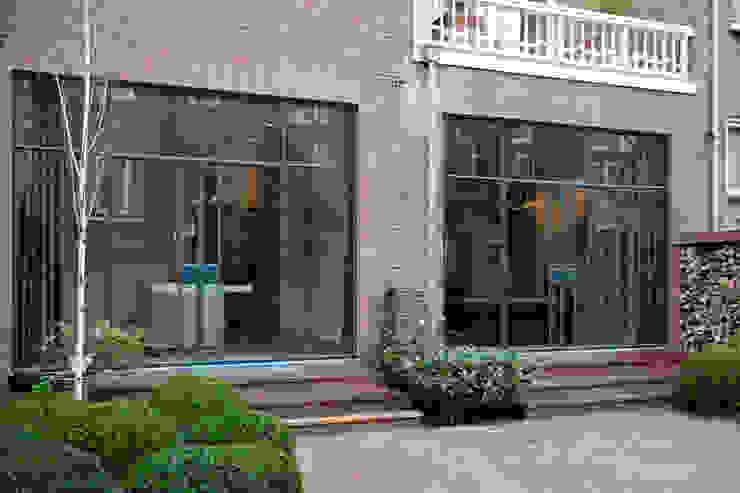 stalen kozijnen Industriële huizen van Studio Kuin BNI Industrieel Metaal