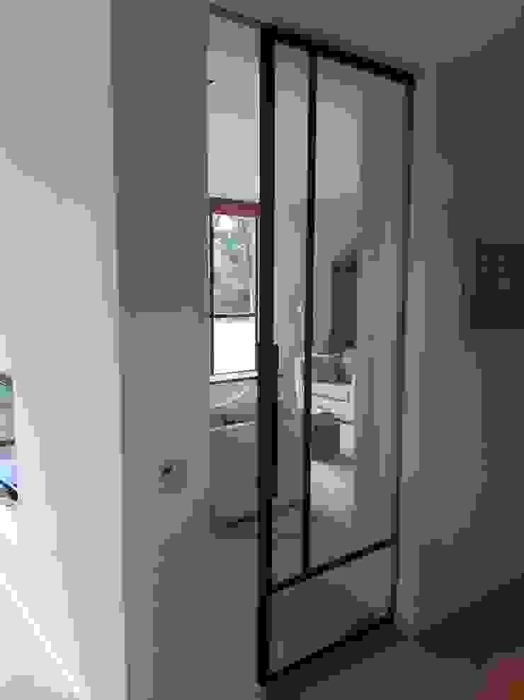 schuifdeur Industriële ramen & deuren van Studio Kuin BNI Industrieel Metaal