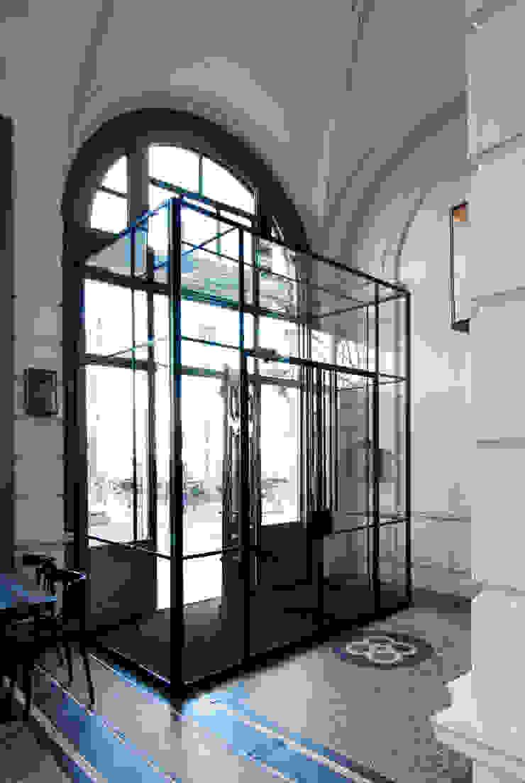 tochtportaal Industriële ramen & deuren van Studio Kuin BNI Industrieel Metaal