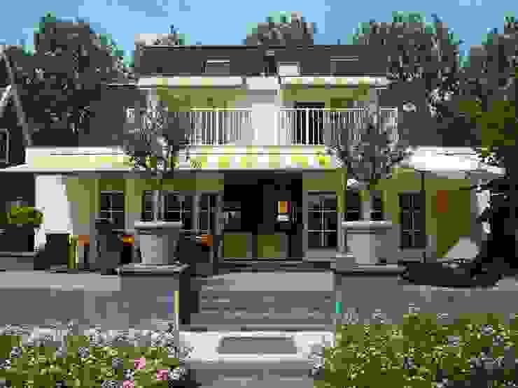 terras Rustieke balkons, veranda's en terrassen van Studio Kuin BNI Rustiek & Brocante