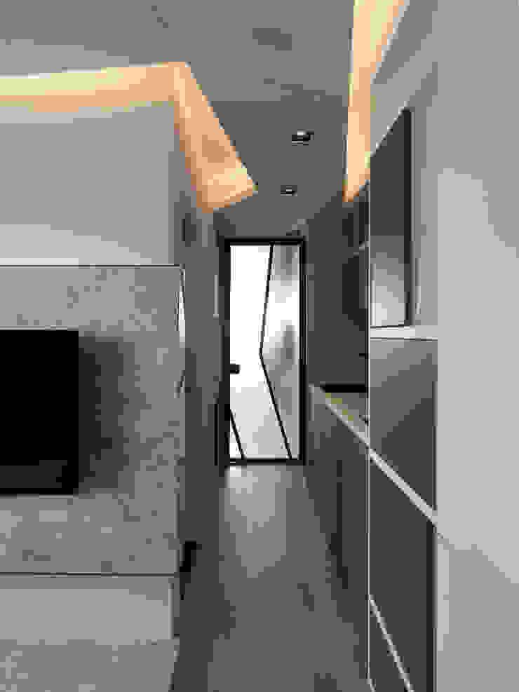 方寸之間 現代房屋設計點子、靈感 & 圖片 根據 樸暘室內裝修有限公司 現代風