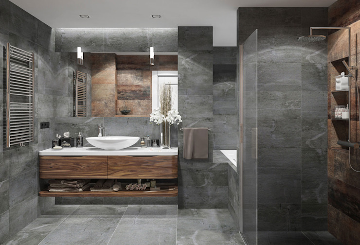 Bathroom by OM DESIGN
