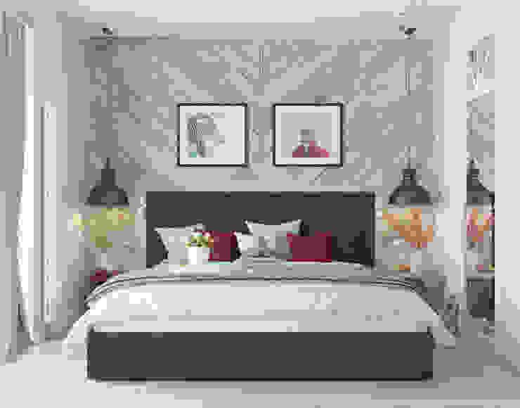 Спальня: Спальни в . Автор – OM DESIGN,