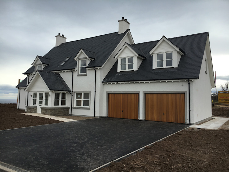 Plot 4, The Views, Gallaton, Stonehaven, Aberdeenshire Casas modernas: Ideas, imágenes y decoración de Roundhouse Architecture Ltd Moderno