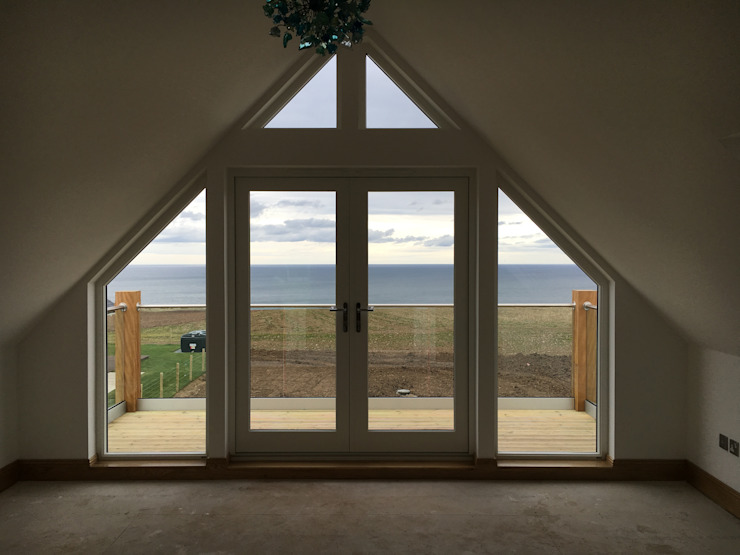 Plot 4, The Views, Gallaton, Stonehaven, Aberdeenshire Modern Windows and Doors by Roundhouse Architecture Ltd Modern Wood Wood effect