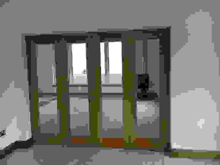 Plot 4, The Views, Gallaton, Stonehaven, Aberdeenshire Livings modernos: Ideas, imágenes y decoración de Roundhouse Architecture Ltd Moderno Madera Acabado en madera