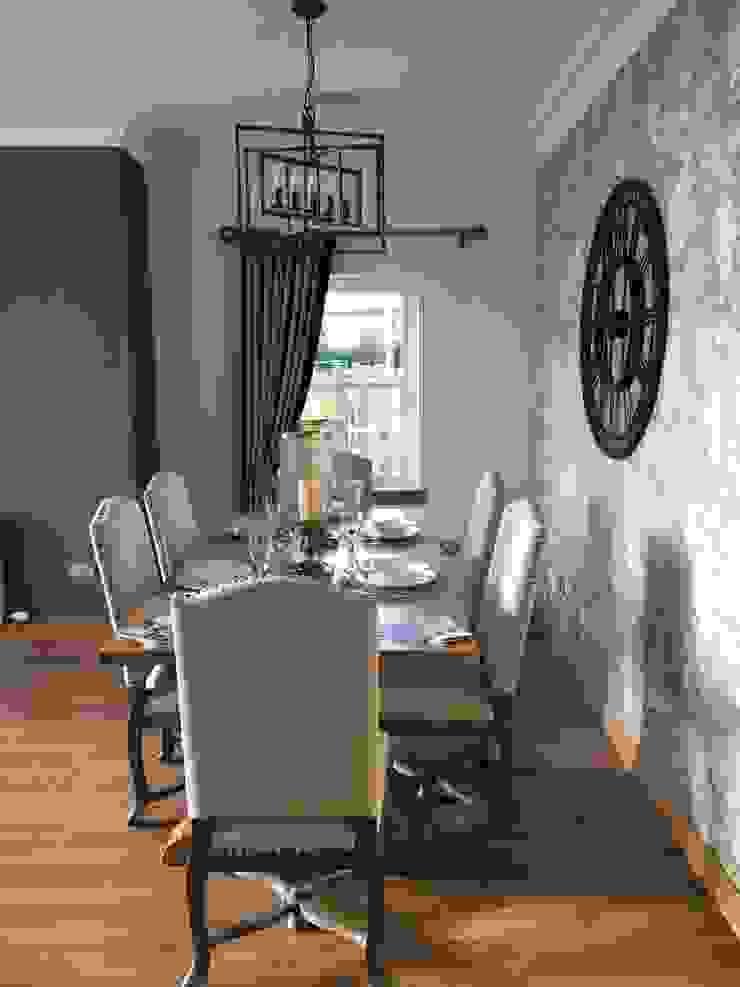 Plot 2 Durward Gardens, Kincardine O'neil, Aberdeenshire Ruang Makan Modern Oleh Roundhouse Architecture Ltd Modern