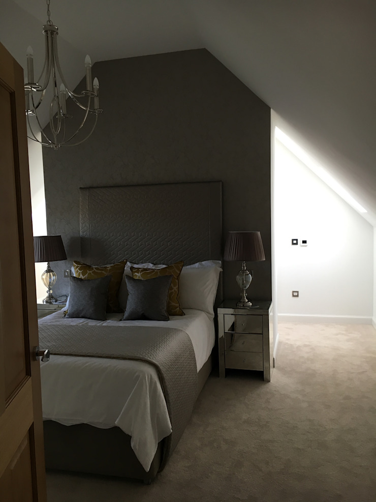 Plot 2 Durward Gardens, Kincardine O'neil, Aberdeenshire Modern style bedroom by Roundhouse Architecture Ltd Modern