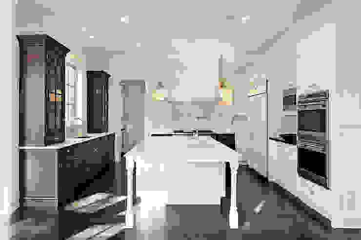Water-jet design Elalux Tile Kitchen Marble White