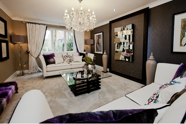 Make every room a new adventure..... Modern living room by Graeme Fuller Design Ltd Modern