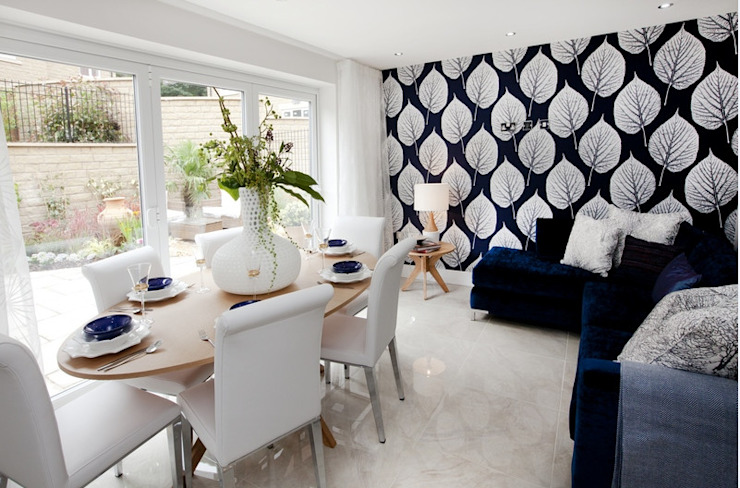 Make every room a new adventure..... Modern Dining Room by Graeme Fuller Design Ltd Modern