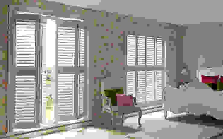 Guide & Glide Window Shutters Salones clásicos de Thomas Sanderson Clásico Derivados de madera Transparente
