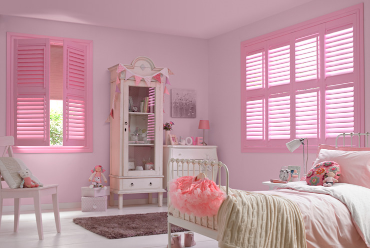 Options Shutter Blinds by Thomas Sanderson Classic Engineered Wood Transparent