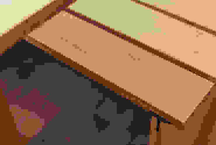 Bank in Huis 20x3: modern  door Tim de Graag, Modern Massief hout Bont