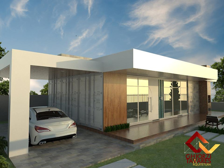 Casas de estilo  por GhiorziTavares Arquitetura