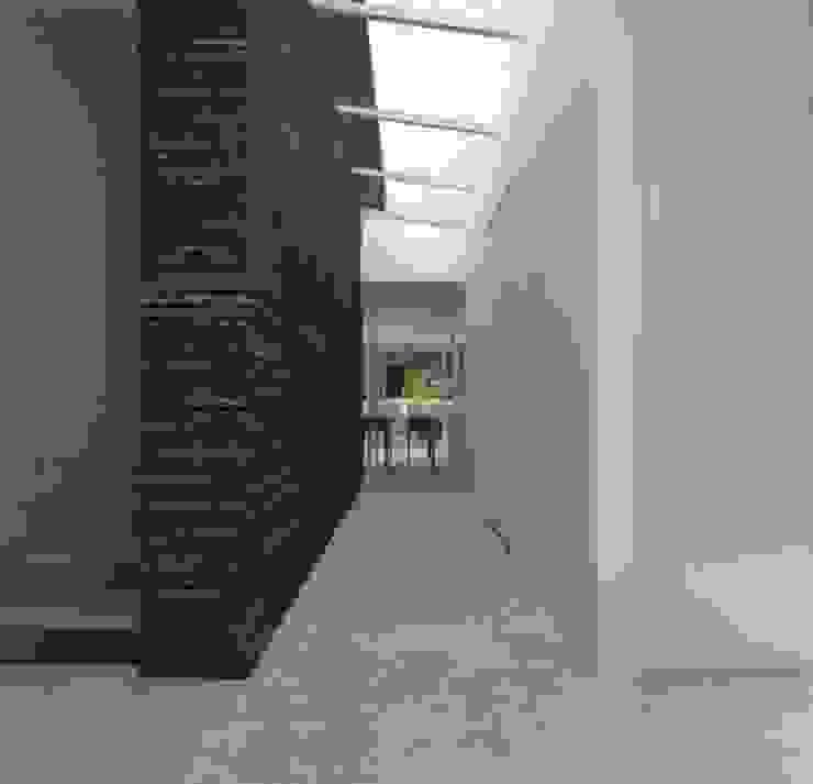 Hal-entree Moderne gangen, hallen & trappenhuizen van Lab32 architecten Modern Beton