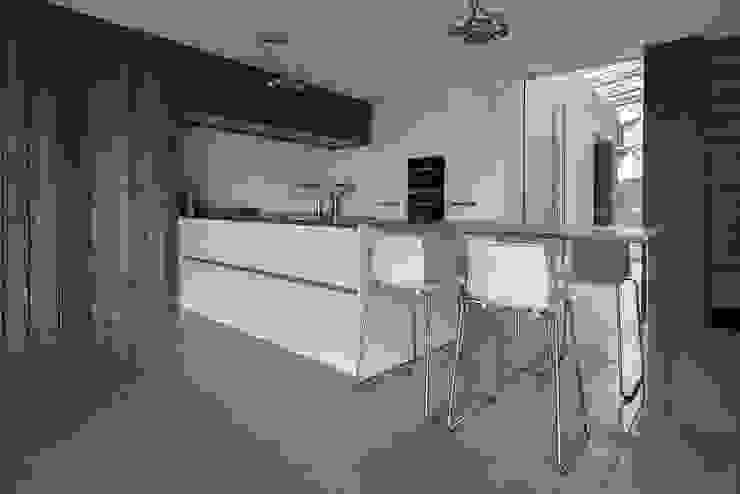 Keuken Moderne keukens van Lab32 architecten Modern Beton