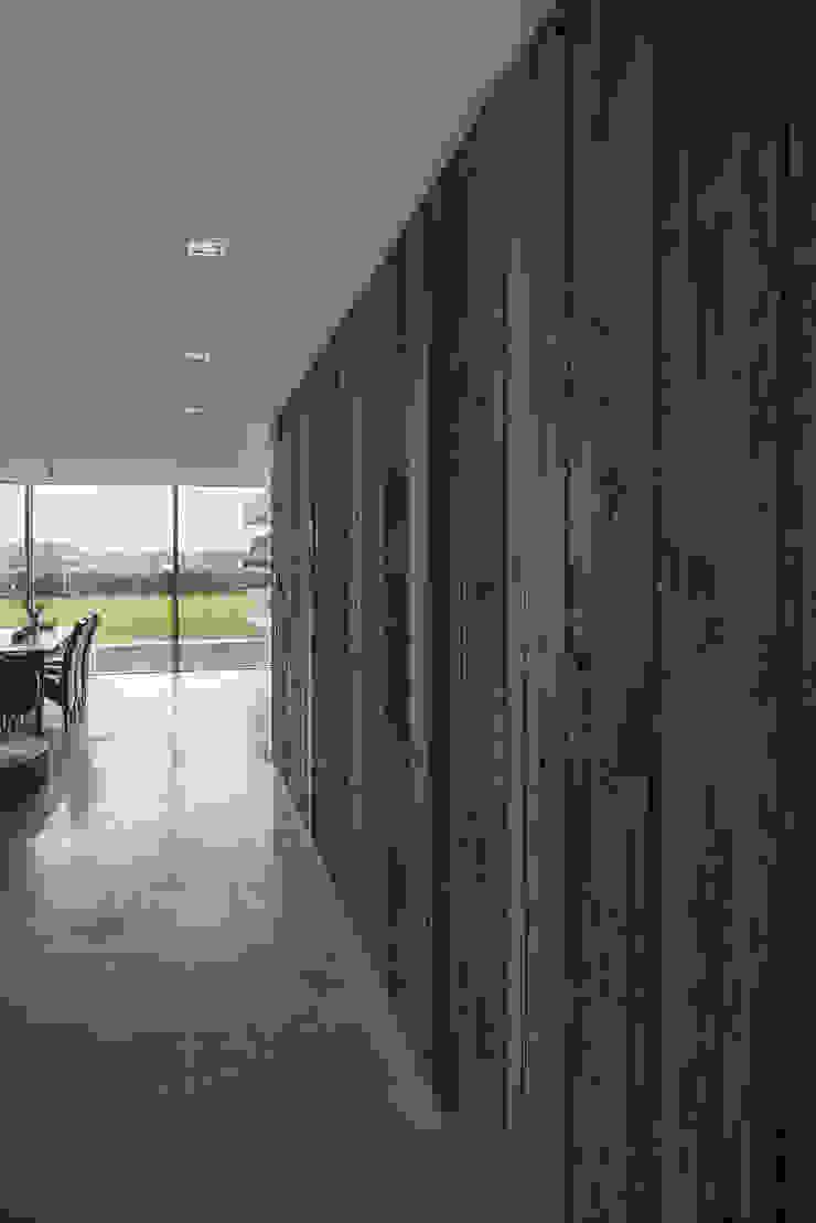 Woonkamer Moderne woonkamers van Lab32 architecten Modern Hout Hout