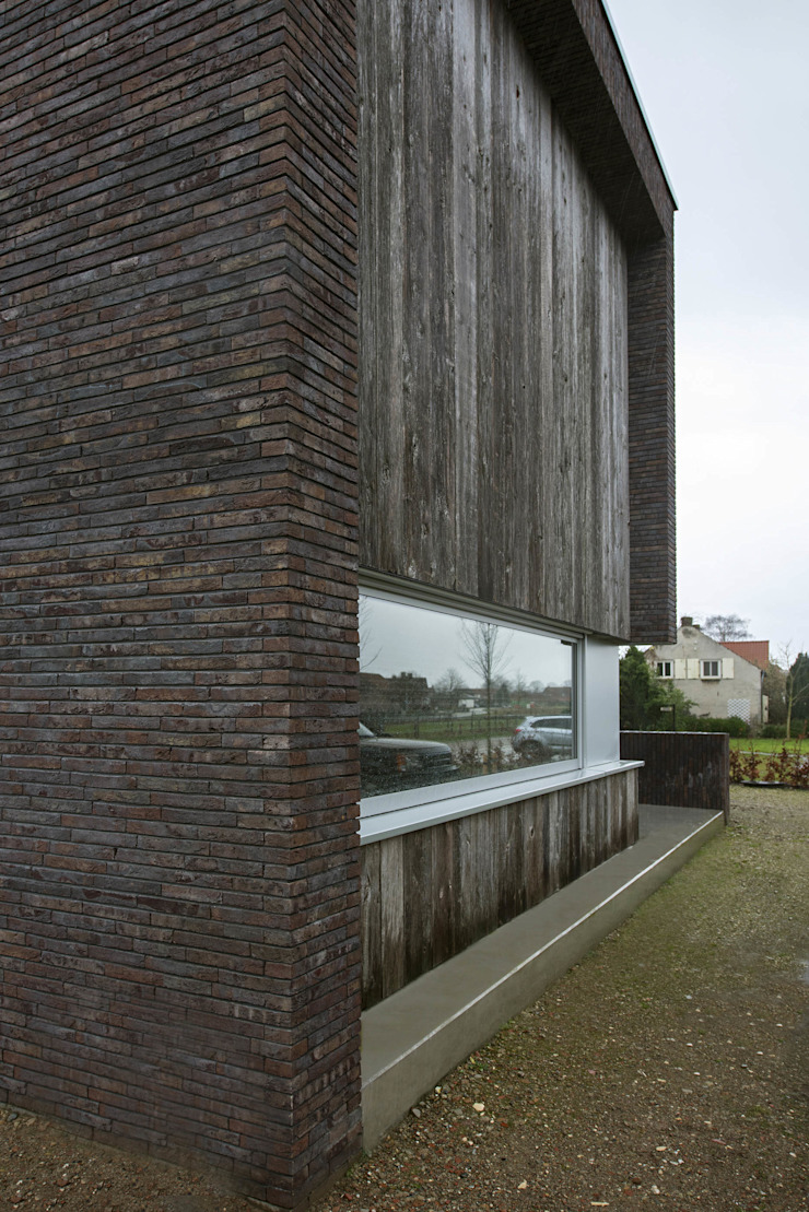 Voorgevel Moderne huizen van Lab32 architecten Modern Hout Hout