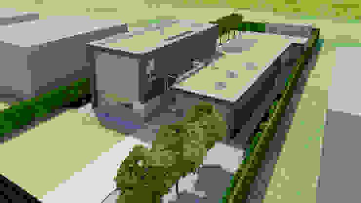 Artist Impression Moderne huizen van Lab32 architecten Modern