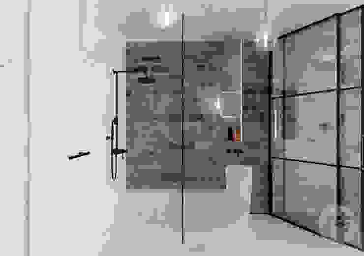 365 Stopni Minimalist style bathrooms Ceramic White