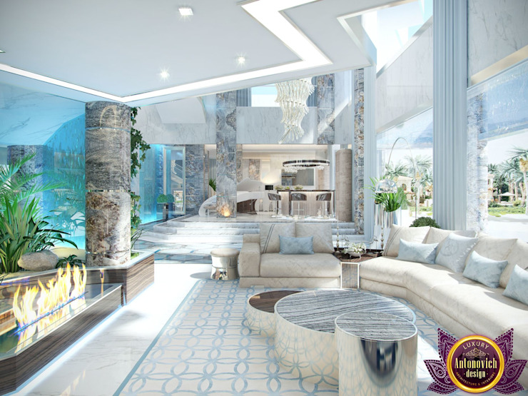 Luxury Antonovich Design:  tarz Koridor ve Hol,