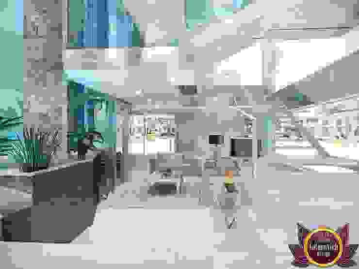 Luxury Modern Interior of Katrina Antonovich Modern Corridor, Hallway and Staircase by Luxury Antonovich Design Modern
