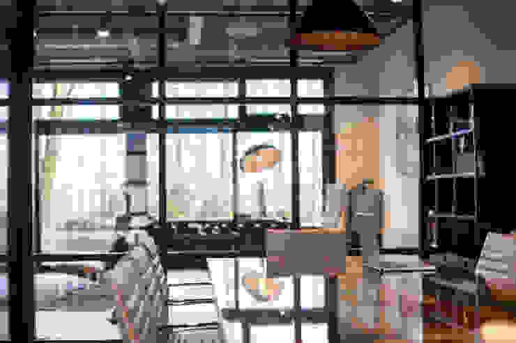 Overlegruimte van Bob Romijnders Architectuur + Interieur Industrieel