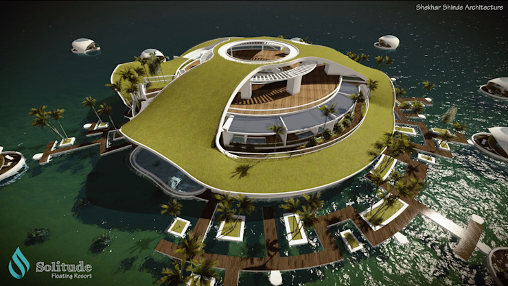 'SOLITUDE' Floating Resort by S2A studio
